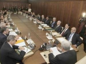 Le Gouvernement Benkirane en réunion