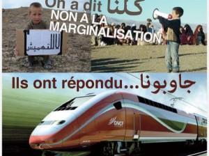 TGV MAROC L'OPPOSITION