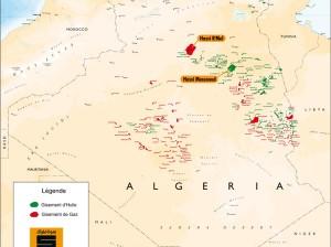 Gisements algériens