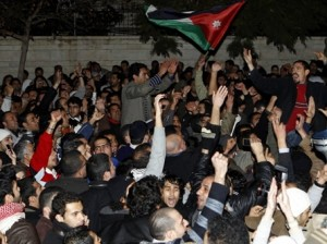 JORDAN-EGYPT-POLITICS-UNREST