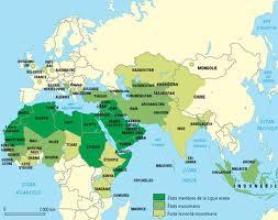 Carte du monde arabe2