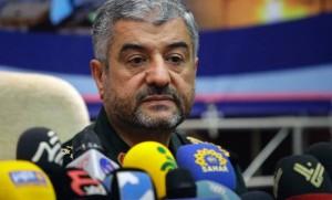 Le Général Mohammad Ali Jafari, commandant en chef des Gardiens de la Révolution Iranienne