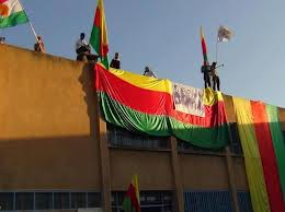 Drapeau du Kurdistan Syrien