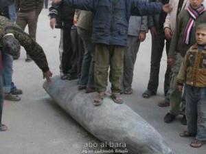 Missile sioniste piétiné par des enfants de Gaza!
