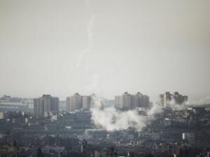 Raids sur Gaza