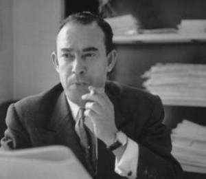 Mehdi Ben Barka , le leader historique de l'UNFP