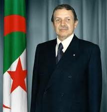 Le Président actuel Boutaflika