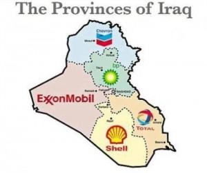 L'Irak morcelé et partagé entre les firmes pétrolières américaines