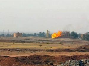Gisement de pétrole en Irak