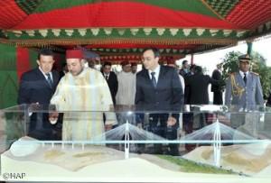 SM-le-Roi-Mohamed-VI-inaugure-le-commencement-des-travaux-de-lautoroute-de-déviation-Casa-Rabat