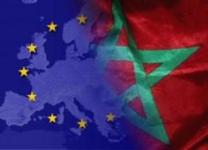 Classe politique 1 drapeau Maroc-CEE