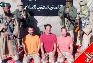 Les quidnappés d'Al Qaada