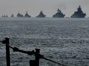 Armada militaire russe en Méditerranée orientale