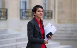 Najat Vallaud-Belkacem, Ministre française des Droits de la Femme, Porte-Parole du Gouvernement