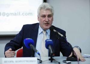 Igor Korotchenko, président du Conseil auprès du ministère russe de la Défense.