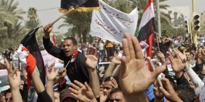 manifestation en Irak 3