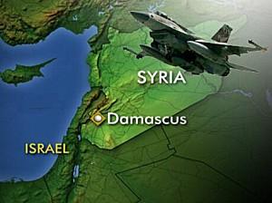 Attaque israélienne contre la Syria