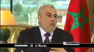 Benkirane devant la presse française