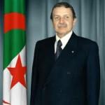 Le Président algérien A; Boutaflika