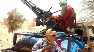 Jihadistes dans la région sahélienne