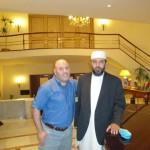 Kaci Racelma avec le leader islamiste Jaba Allah