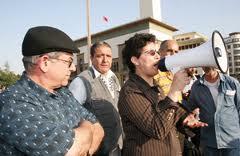 Khadija Riadi, l'une des activistes notoires du Mouvement