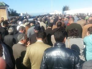 Obsèques à Rabat regretté Professeur Driss-Ben-Ali.