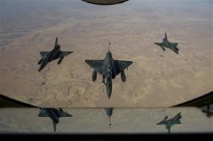 Raids aeriens français dans  nord du Mali