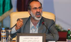 Ahmed Moez Al Khatib opposant syrien