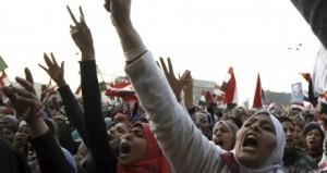 Femmes en Egypte le 8 mars dernier