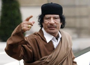 Kadhafi à l'heure de son épopée anti-marocaine