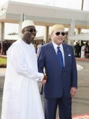Mohamed VI AVEC le Président sénégalais