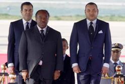 Mohamed VI et le Président gabonnais