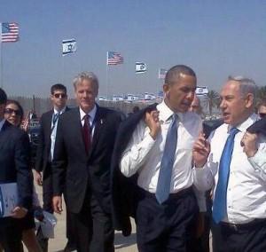 Obama et Nataniyahou à Jérusalem Mars 2013
