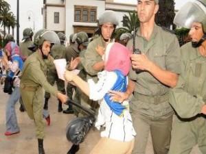 Répression au Maroc