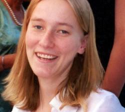 Rachel Corri quelque jours avant qu'elle ne soit tué par les bandes sionistes