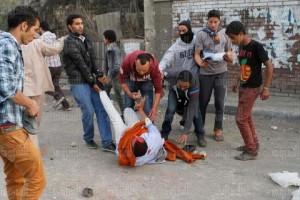 Violences dans les rues en Egypte