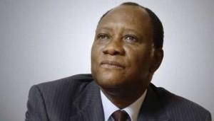 Le Président ivoirien
