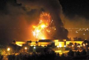 """Destruction de l'Irak, """"Le chemin vers Jérusalem passe par Bagdad."""" Henry Kissinger"""
