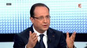 François Hollande, le Président français