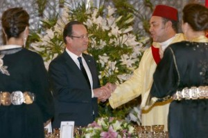 Maroc-France visite de Hollande1