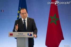 Maroc-France visite de Hollande2