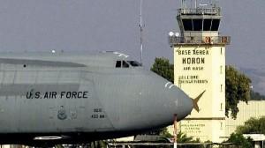 Us air forces  en déploiement dans les bases américaines de l'Andalousie