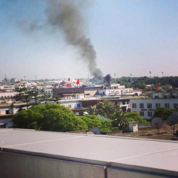 parlement rabat explosion