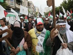 Manifestation à Al Qods comomérant la Nakba