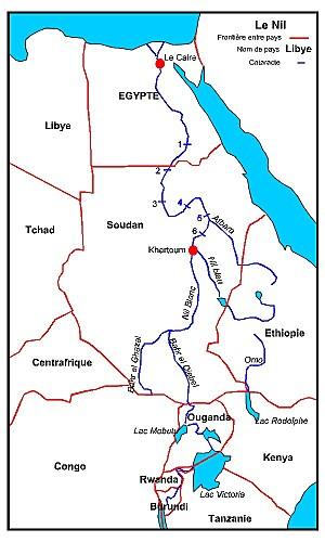 Emplacement du projet éthiopien