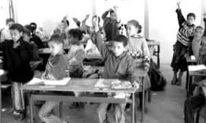 Ecoliers en classe