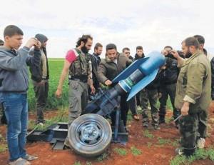 La preuve incontournable de l'utilisation d'armes chimiques par les rebelles syriens et leurs mercenaires