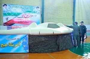 Drone américain capturé-par l'armée iranienne-