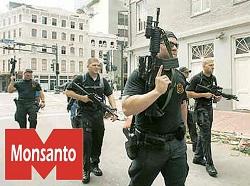 Mercenaires de Blachwater (en irak) devenus agents de Mansonto